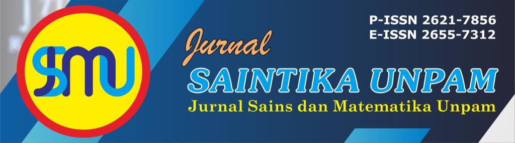 Jurnal Saintika Unpam : Jurnal Sains dan Matematika Unpam