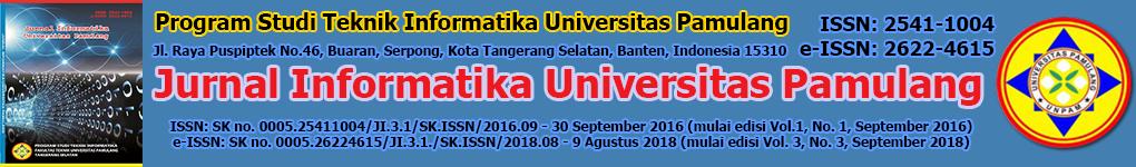 Jurnal Informatika Universitas Pamulang