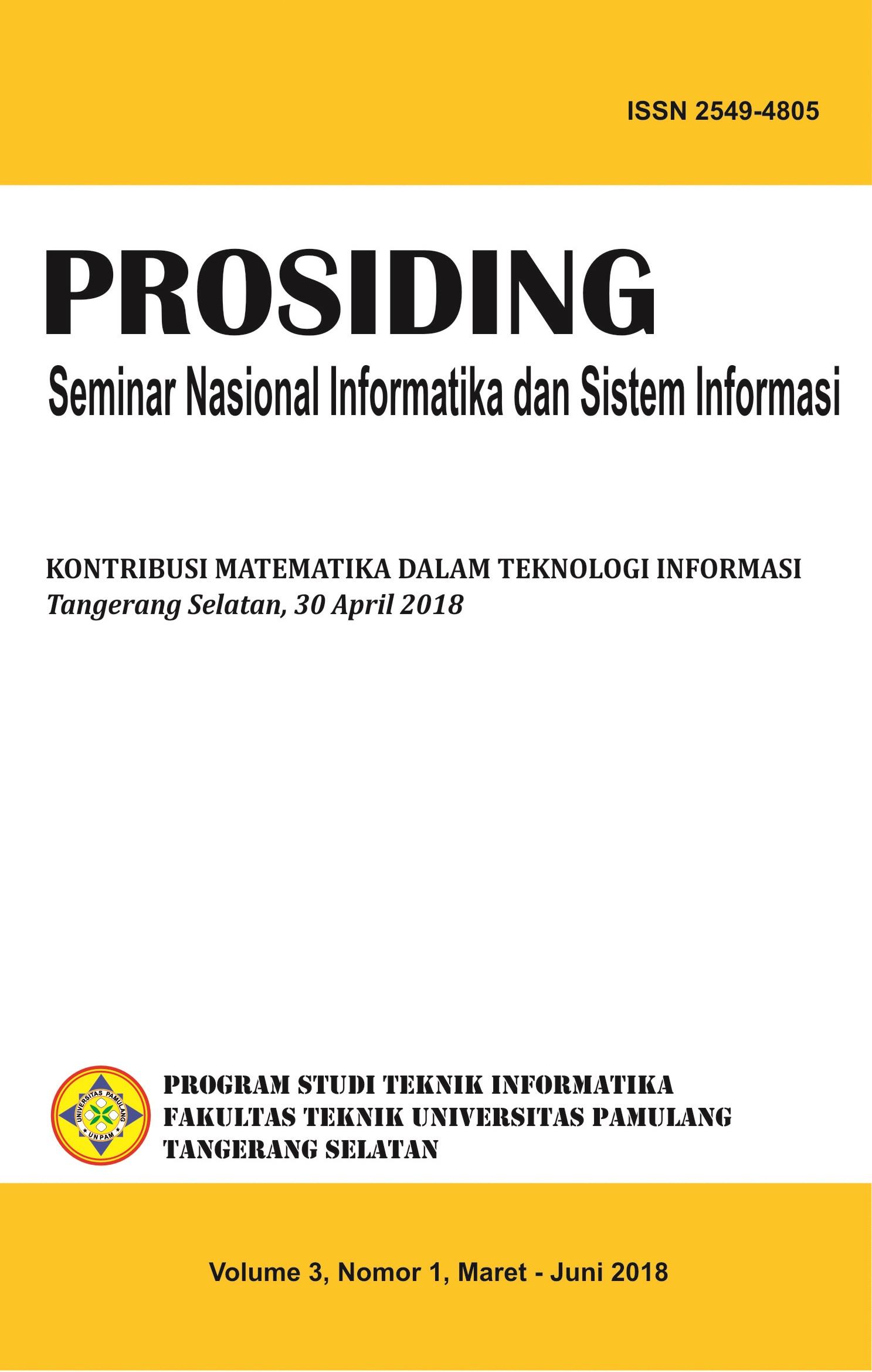 Vol.3 No.1 : Kontribusi Matematika dalam Teknologi Informasi