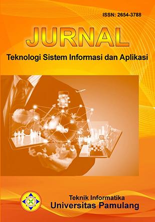 Jurnal Teknologi Sistem Informasi dan Aplikasi