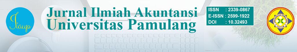 Jurnal Ilmiah Akuntansi Universitas Pamulang
