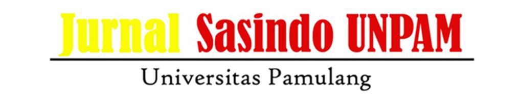 Jurnal Sasindo UNPAM
